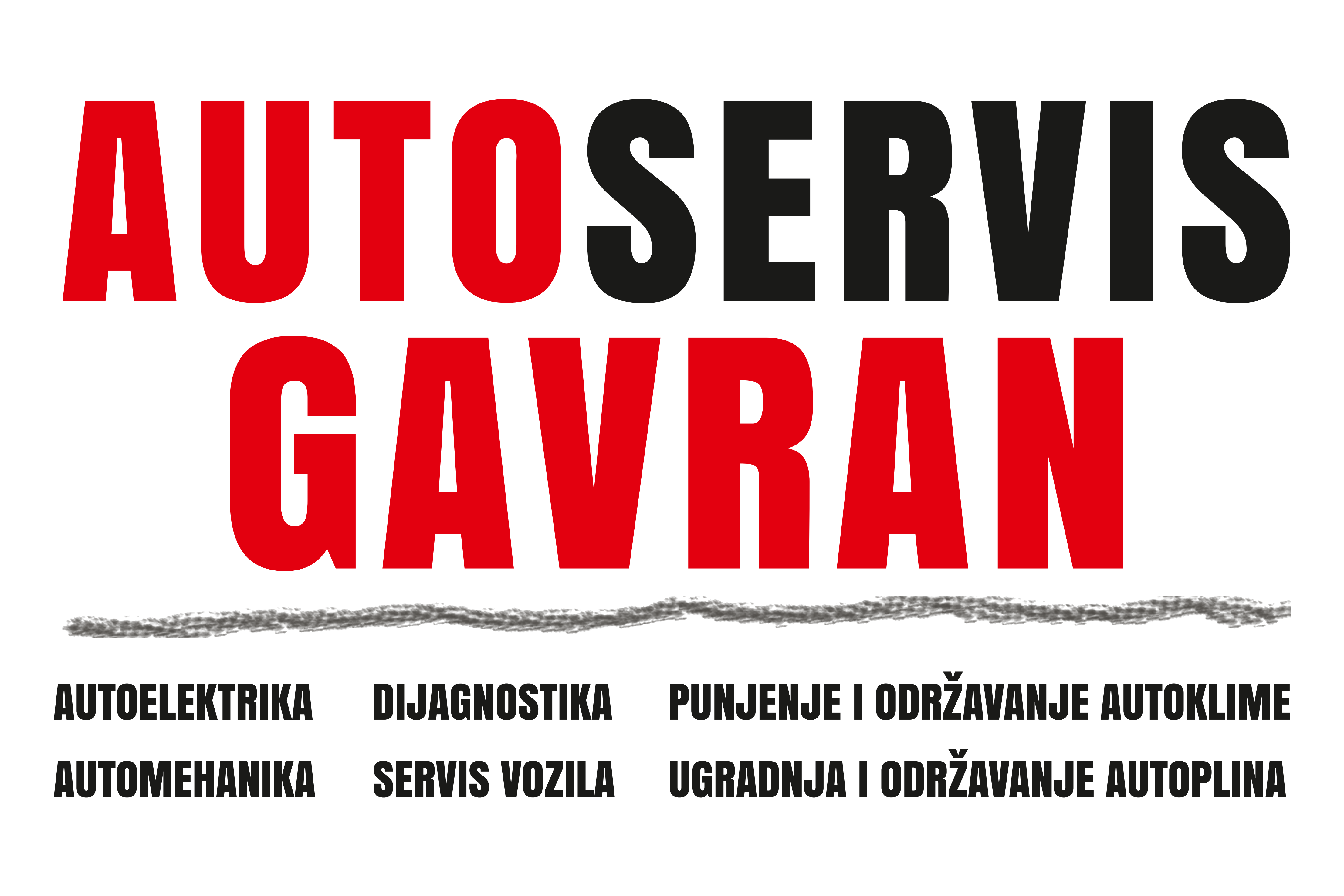 Logo: AUTOSERVIS GAVRAN j.d.o.o.