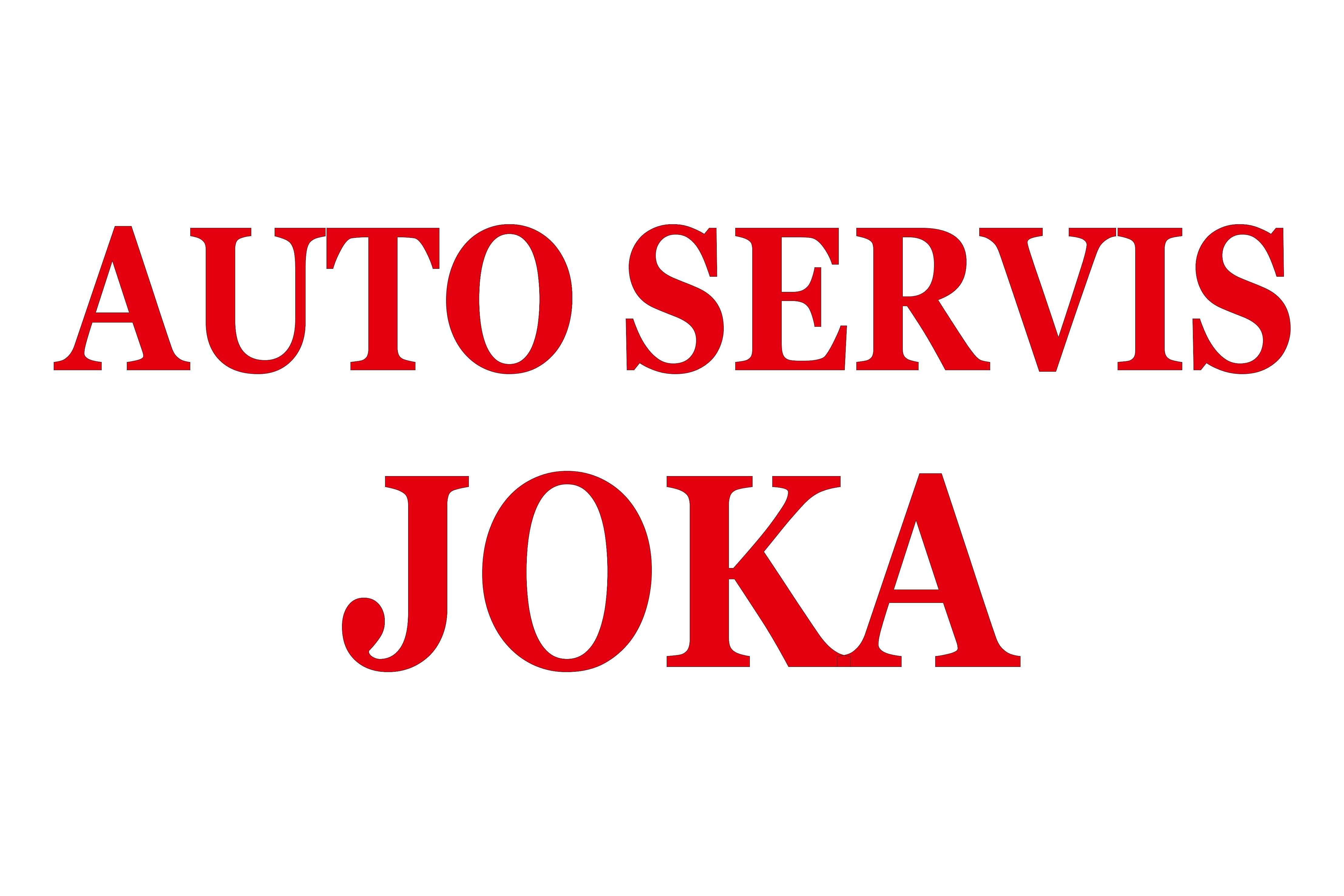 Logo: AUTOSERVIS JOKA j.d.o.o.
