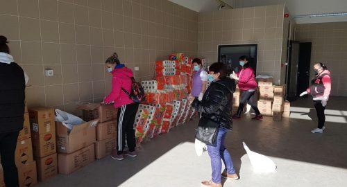 PUK50: Priprema paketa kućanskih i osnovnih higijenskih potrepština